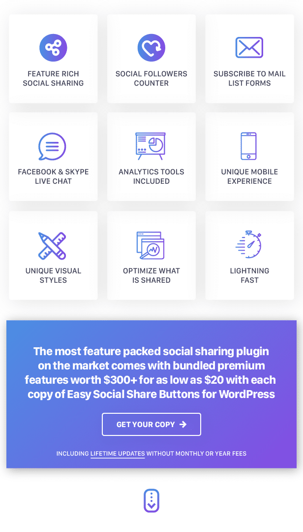 Easy Social Share Buttons for WordPress, Easy Social Share Buttons for WordPress free download, Easy Social Share Buttons for WordPress pro nulled, Easy Social Share Buttons for WordPress demo, Easy Social Share Buttons for WordPress plugin pro download