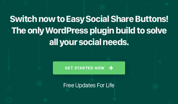 Easy Social Share Buttons for WordPress 30